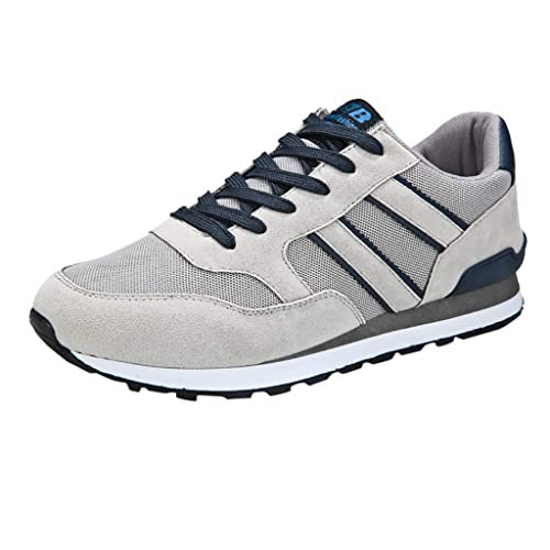 a9cb3e0f6f070 Amazon.com: Mosunx Athletic Men Lace Up Sneakers, Boys Breathable ...