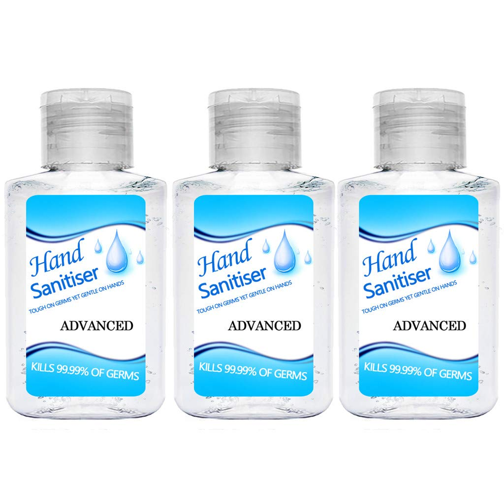 Portable Hand Soap Gel Rinse-Free Hand Cleanser Refreshing Hand Sanitizer Gel for Adults /& Children