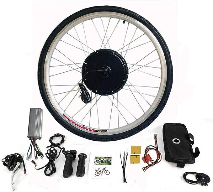 MOMOJA Kit de conversión de Rueda Trasera eléctrica LCD para ...