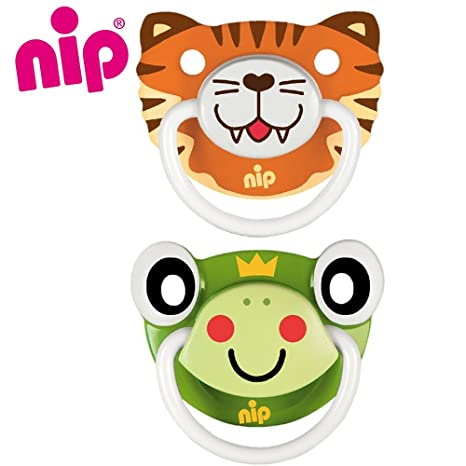 Nip silicona Chupete//Funny Animals//Silicona anatómico ...