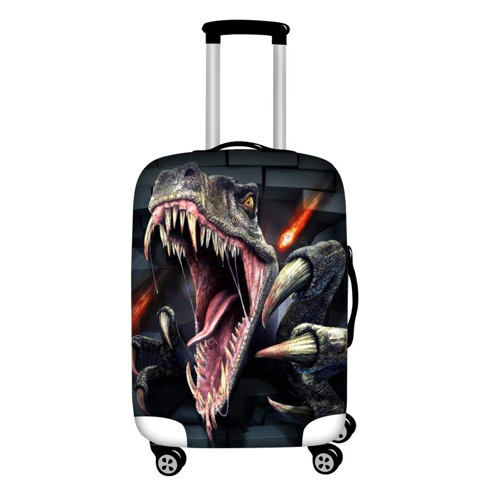 79609503c582 Instantarts T Rex Baggage Covers 18-30 Inch Elastic Luggage Cover Dinosaur  Suitcase Protector S