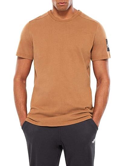 The North Face Camiseta Fine Marron Hombre XL Marrón: Amazon.es ...