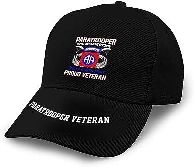 Proud to Be A Veteran Vintage Unisex Adjustable Baseball Cap Denim Dad Hat