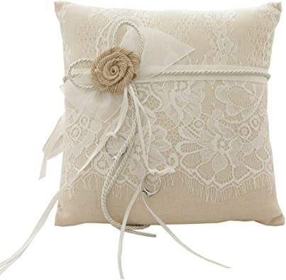 Amazon.co.uk: ring pillow