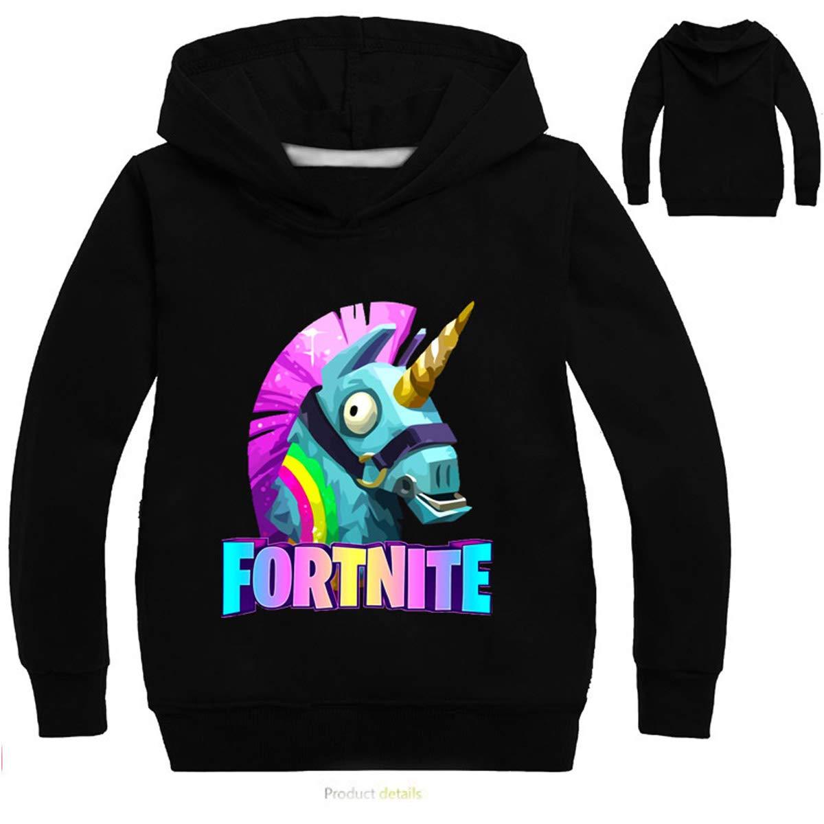 VGEU-KJGT Fortnite Hoodies Hoodies Sweatshirt Pullover Youth Unisex Kids Boys Girls