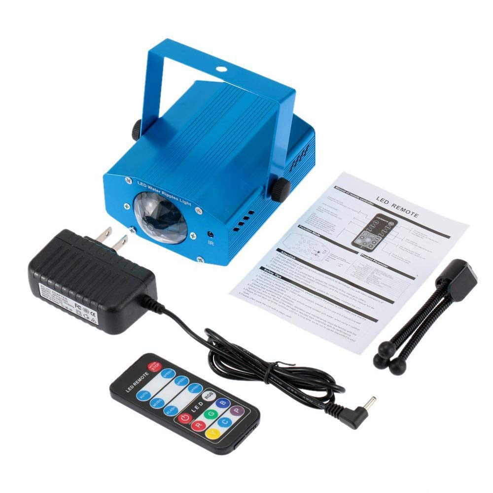 Amazon.com: STHfficial - Proyector láser LED RGB con control ...