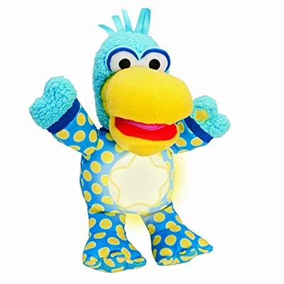 Pajanimals NightTime Squacky Plush Toy: Toys & Games