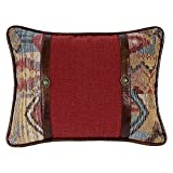 Hiend Accents Unisex Ruidoso Oblong Concho Throw Pillow Multi One Size