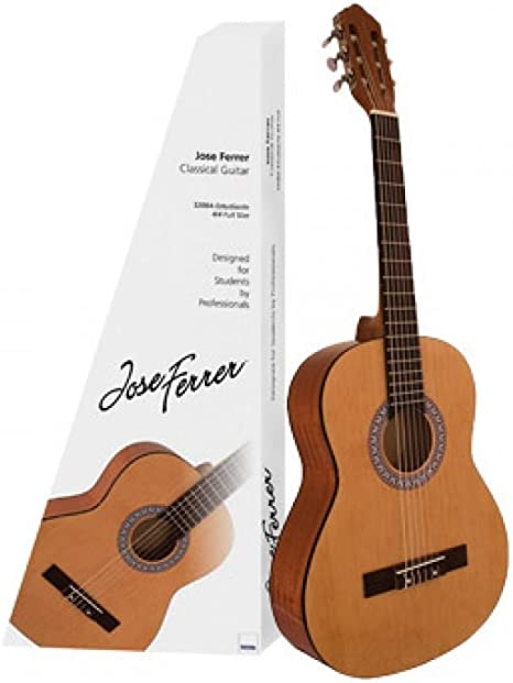 Guitarra acústica clásica (tamaño 1/2) Jose Ferrer: Amazon.es ...