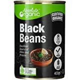 Absolute Organic Black Beans Tinned, 400g