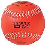 Markwort Color Coded Weighted 11-Inch Softball (7-Ounce, Bronze)