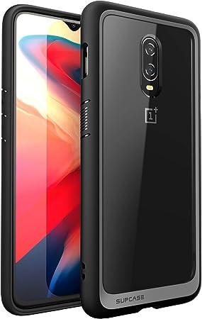 SupCase Funda OnePlus 6T [UB Style] Transparente Delgado Case Protector para OnePlus 6T (Negro): Amazon.es: Electrónica