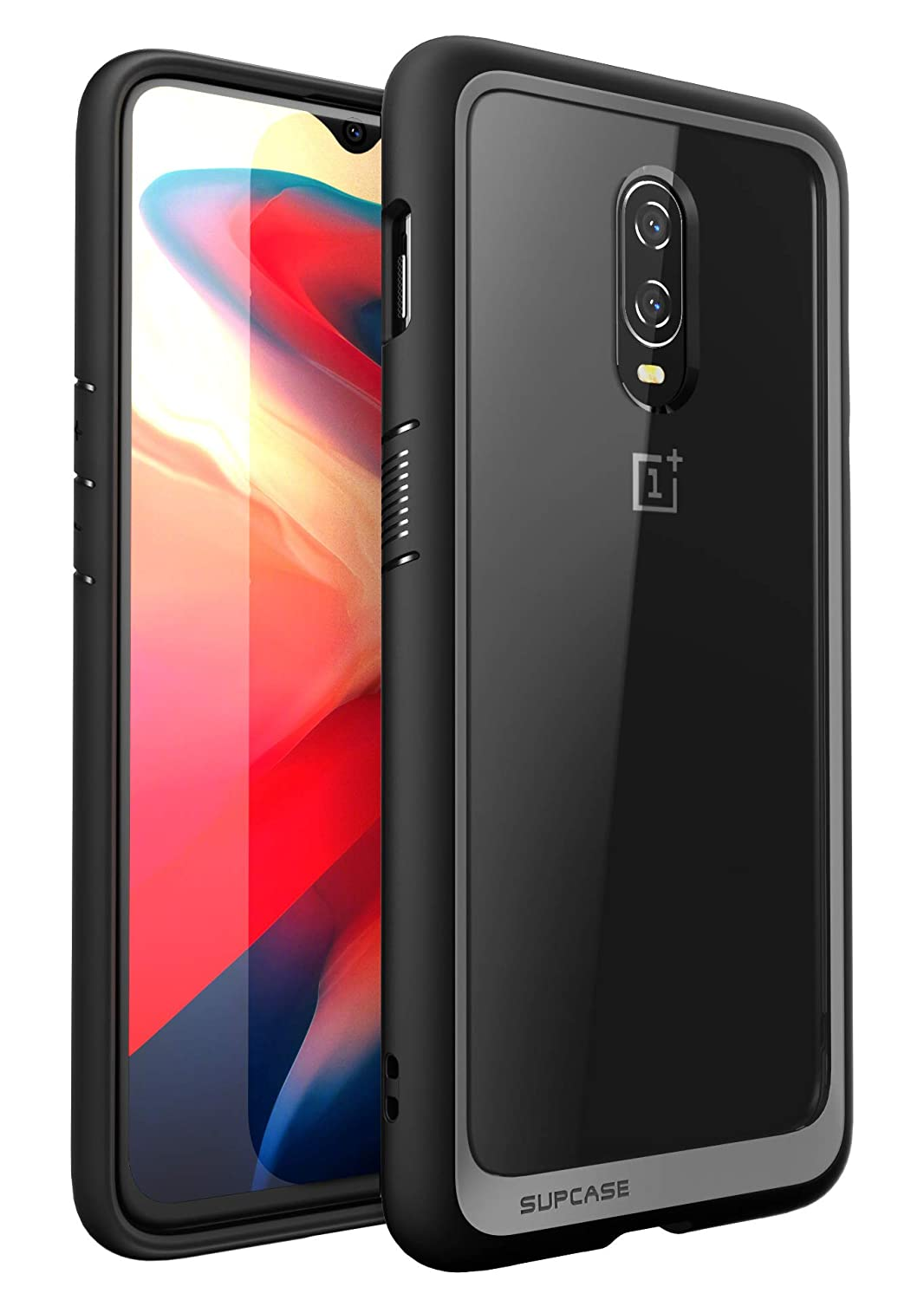 the best attitude 576cc 8192c SupCase [Unicorn Beetle Style Series Case for OnePlus 6T, Premium Hybrid  Protective Clear Case for 1+ 6t 2018 Release - Retail Package (Black)