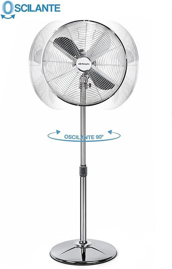 Orbegozo SF 3345 Ventilador de pie DISEÑO, 60 W, 3 Velocidades ...