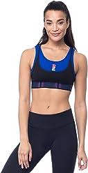 4b2885ad580db P.E NATION Women s Active Workout Advantage Layered Crop Bra Yoga Top - XS