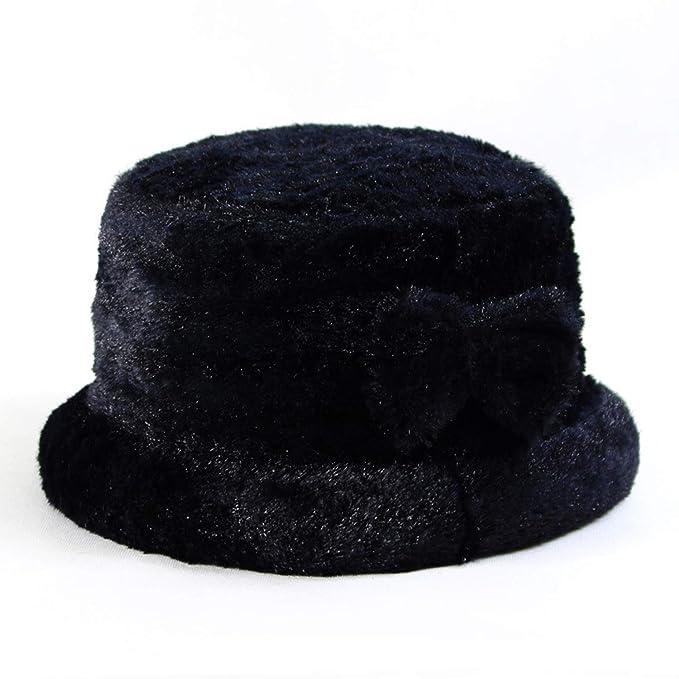 4872b98b Ladies Warm Fedoras Outdoor hat Women Vintage Casual Cotton Caps Fashion  Winter Jazz Bucket Top Hats
