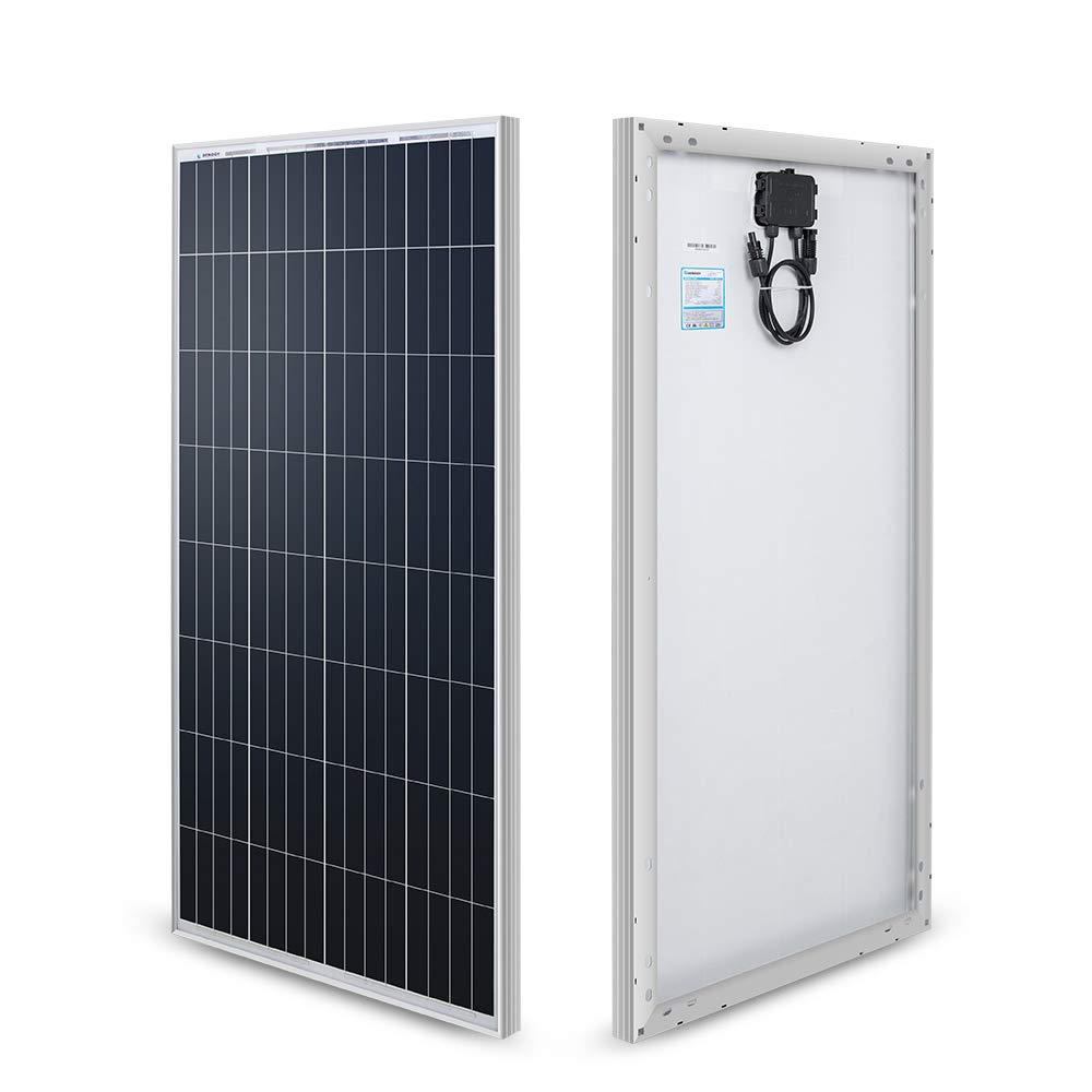 Renogy 100 Watt 12 Volt Monocrystalline Solar Panel (New Edition) by Renogy
