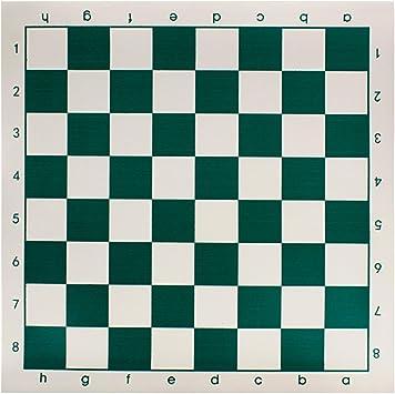 Andux Tablero de ajedrez Tablero de ajedrez 33cm x 33cm pliegan ...