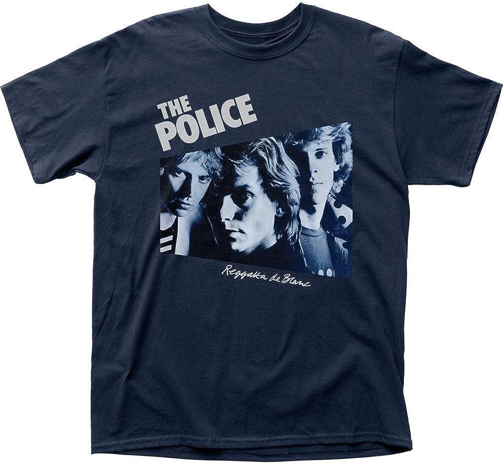 Sdmnsg - Camiseta de la policía Regatta De Blanc Camiseta: Amazon.es: Ropa y accesorios
