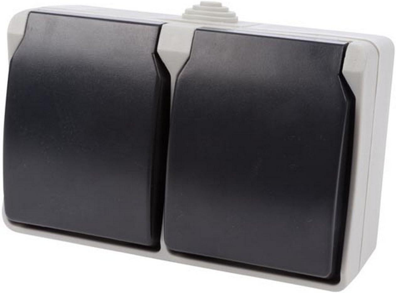 -IP44 Sistema Tedesco Perel ewsox2/di G 2/X Presa per l uso in esterni della protezione di contatto