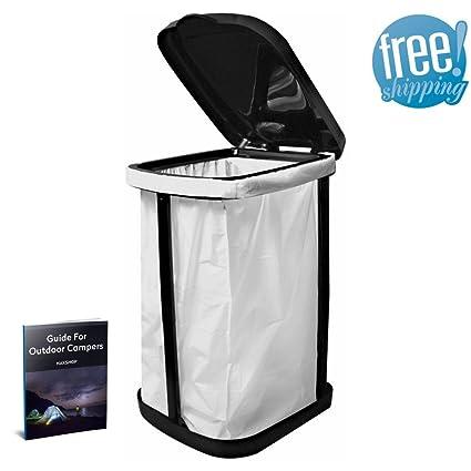 Trash Bag Frame Holder Garbage Bag Stand Holder Camping Rv Portable Kitchen  Waste Rubbish Garden Outdoor