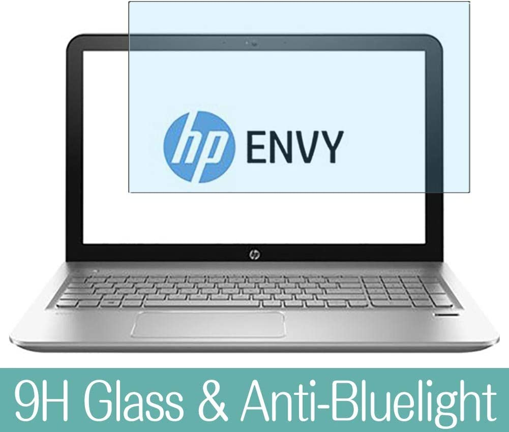 """Synvy Anti Blue Light Tempered Glass Screen Protector for HP Envy m6-ae100 / ae151dx 15.6"""" Visible Area 9H Protective Screen Film Protectors"""