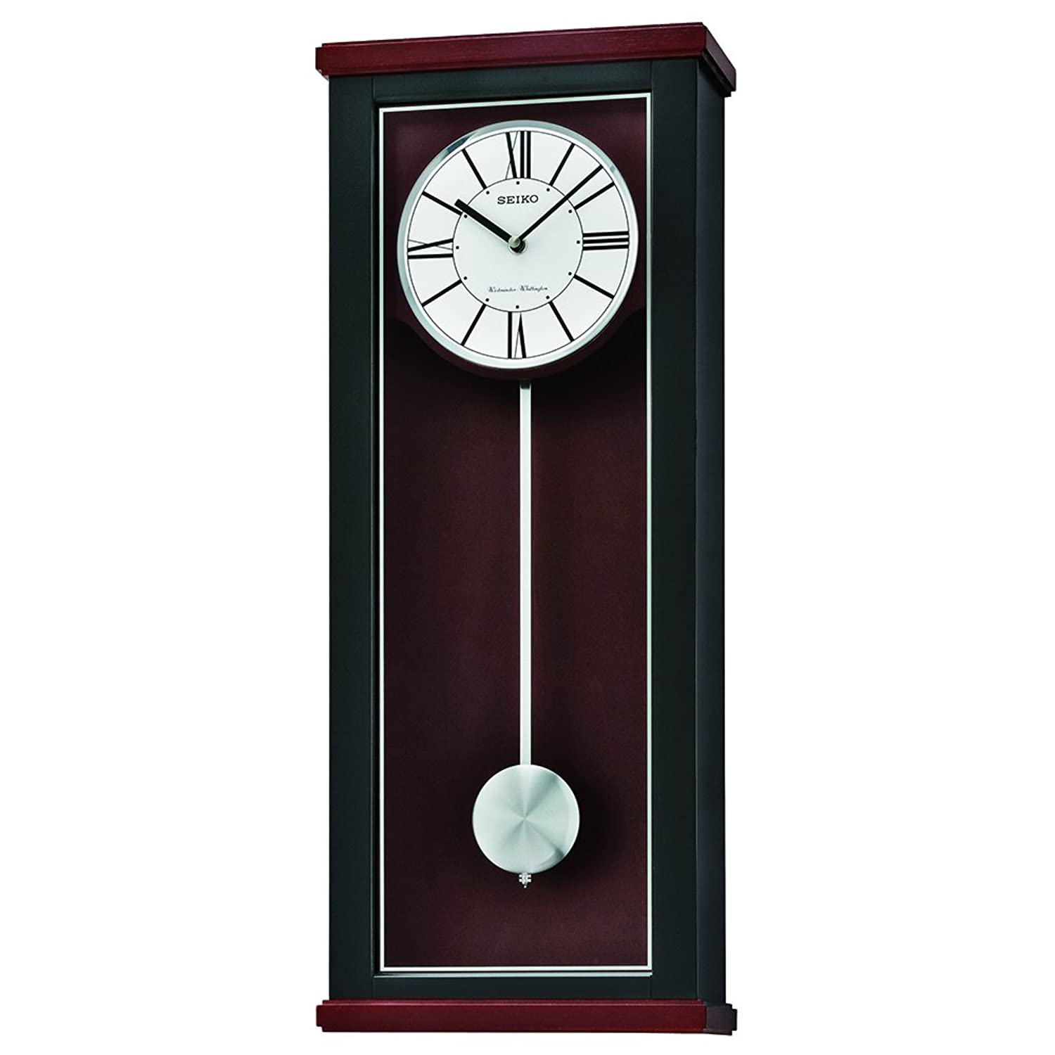 Inspirational pendulum wall clock modern architecture nice seiko qxh062klh wall japanese quartz wall clock watches amipublicfo Choice Image