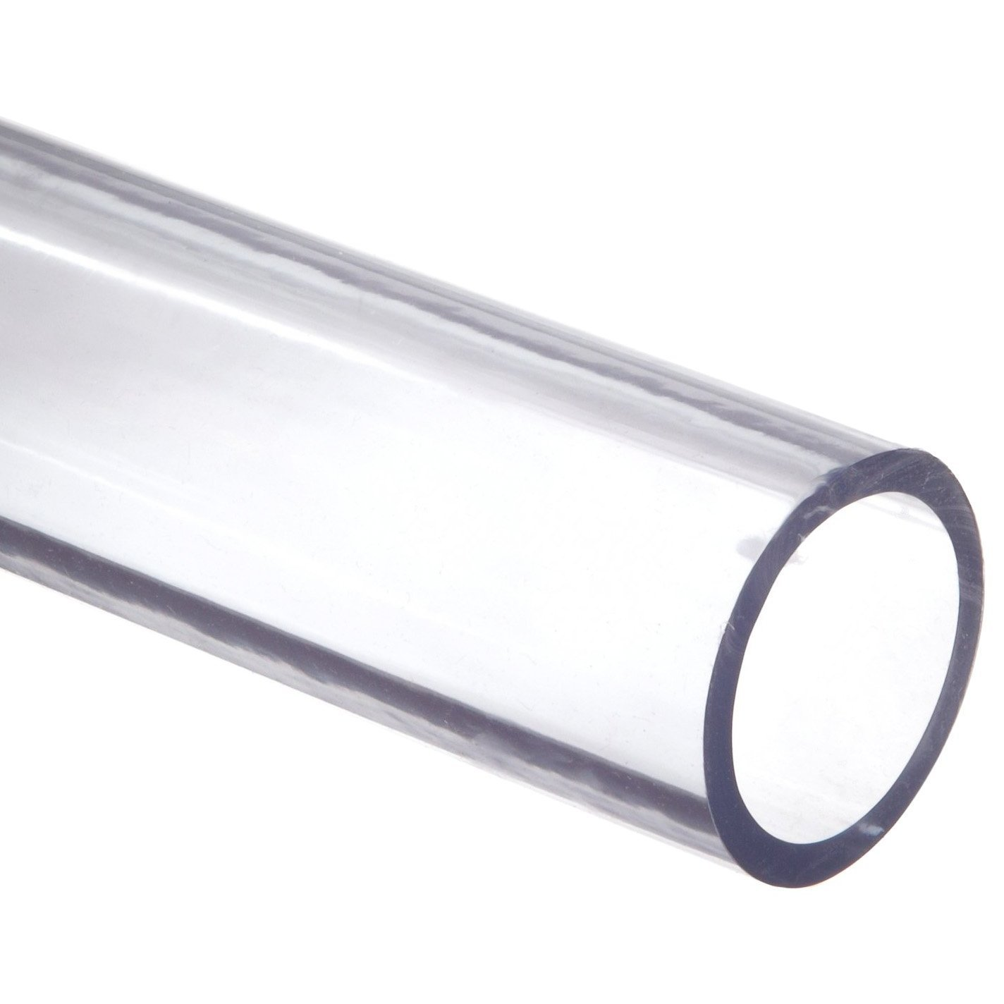 Dynalon 610855-38 Transparent Vinyl Food Grade Tubing, 1-1/4