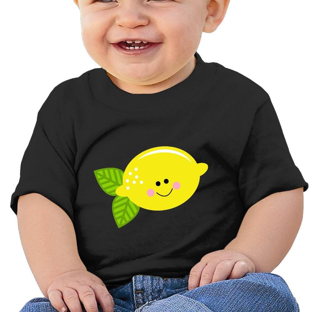 Arsmt Baby Girls Toddler//Infant Short Sleeve Cute Lemon Shirt