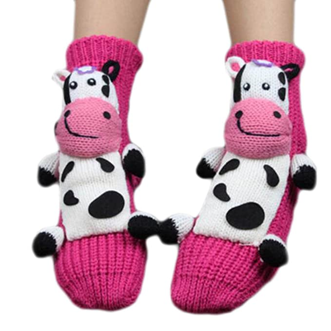Black Temptation Un par de calcetines antideslizantes para dormir ...