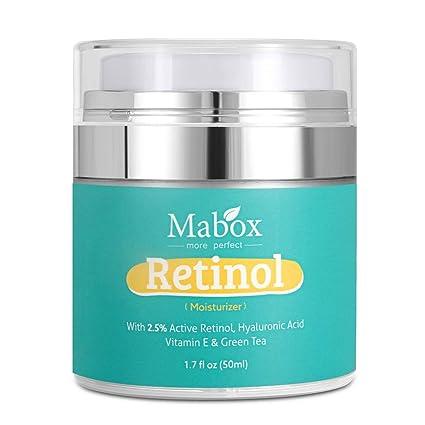 Crema Facial de Ácido Hialurónico, Cuidado de la Piel para Mujeres 50ML Crema Hidratante Facial