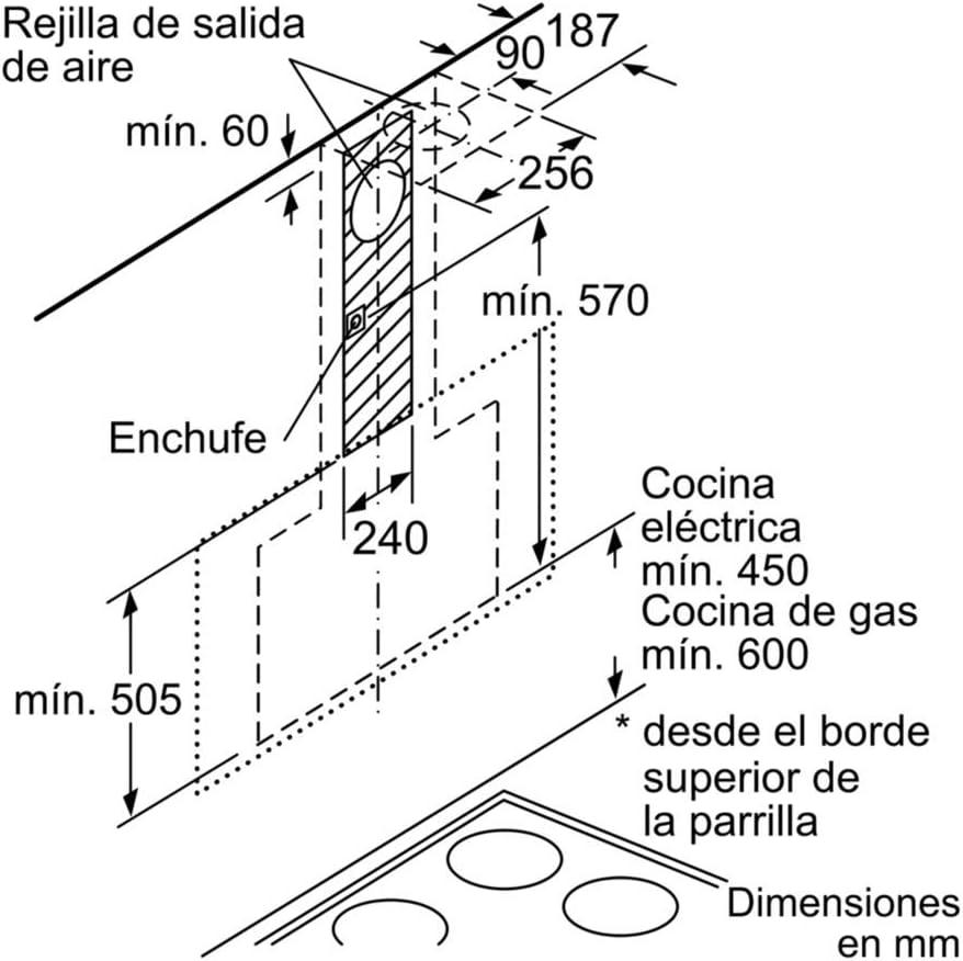 Balay 3BC497GN - Campana, color negro: 602.58: Amazon.es: Grandes electrodomésticos