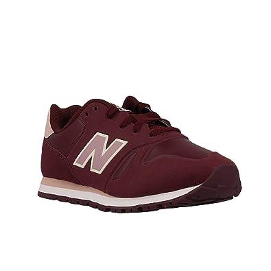 Zapatilla New Balance KD373 S2Y Burgundy (512): Amazon.es: Zapatos y complementos
