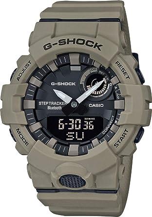 Casio Homme Analogique-Digital Quartz Montre avec Bracelet en Plastique GBA-800UC-5AER