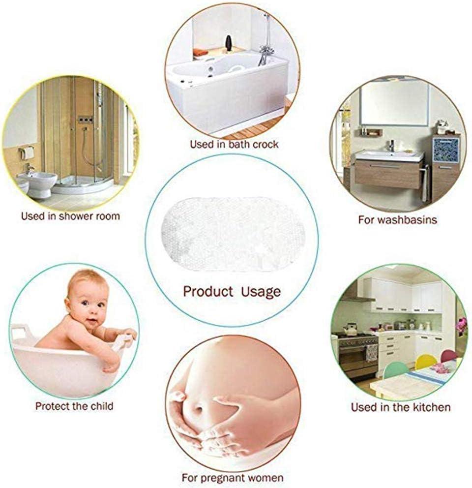 Badezimmer Duschmatten Dusche rutschfest 70cm x 35cm,A Morbuy Badematte Rutschmatte mit Saugn/äpfe Duscheinlage f/ür Badezimmer Wasser Antibakteriell Anti-Rutsch-Badewanneneinlage