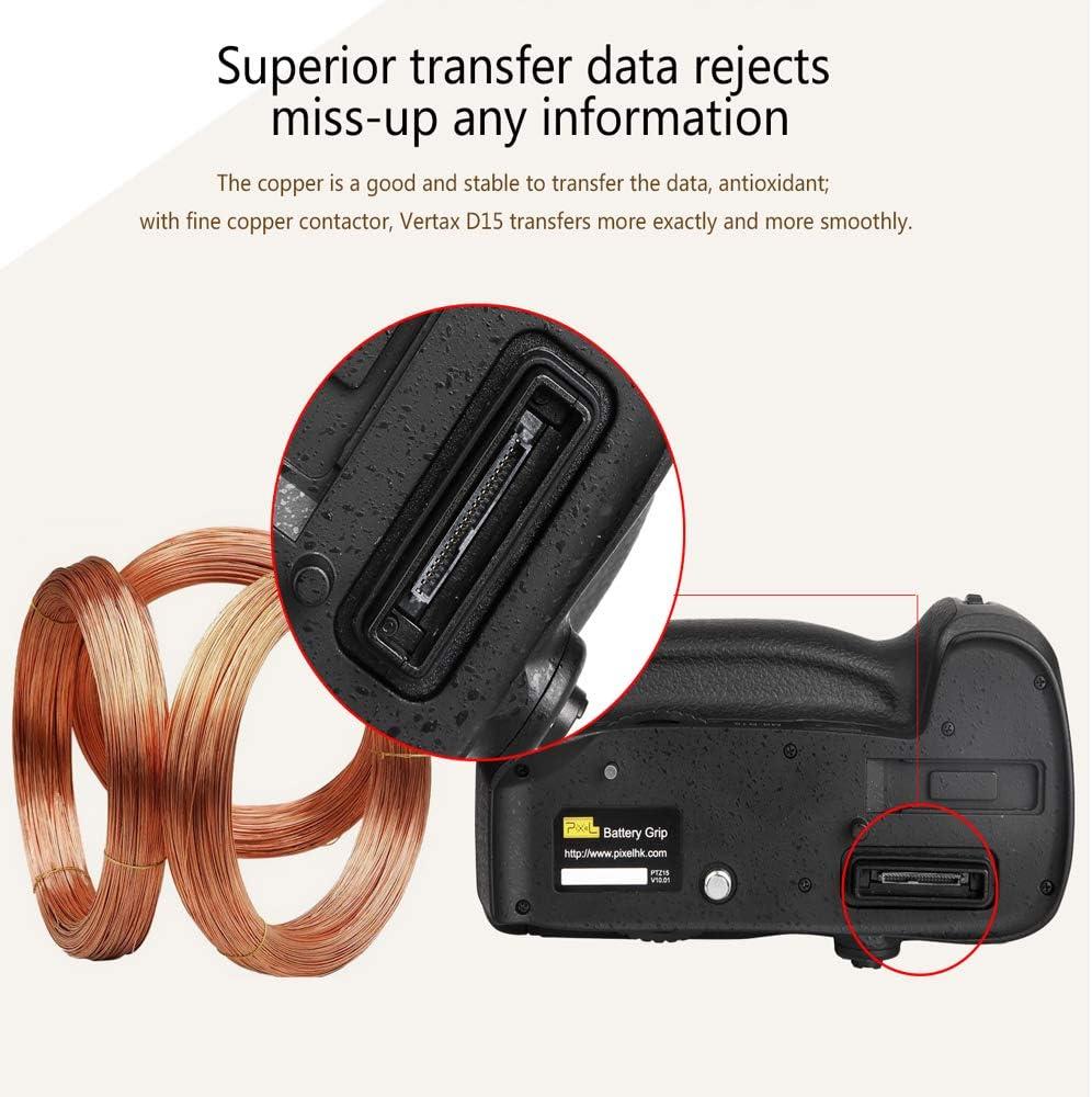 Yunchenghe MB-D12 Multifunction Battery Handle for Nikon D800 D800E D810 Digital Camera Replaces Nikon MB-D12