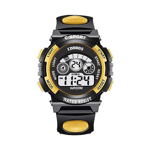 DAYLIN Relojes Deportivos Niños Hombre Mujer Digitales LED Doble Movimiento Digital Reloj Deportivo Despertador de Pulsera Actividad Reloj Fitness Sports ...