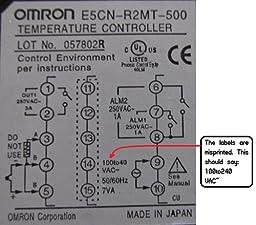 Omron e5cn-r2mt-500 manual
