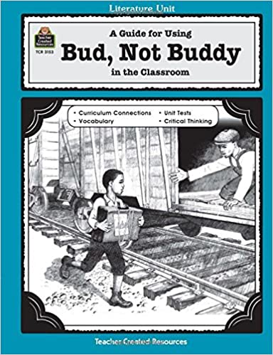 amazon com a guide for using bud not buddy in the classroom