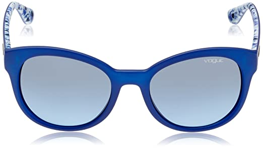 Sunglasses Mod.2939S Transparent electric blue/Blue gradient, 55 Vogue