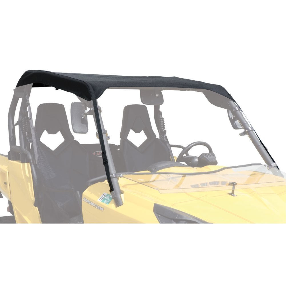 Tusk UTV Fabric Roof Black - Fits: Can-Am Commander 1000 XT-P 2014-2017