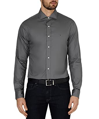 8d2043c4394 Tommy Hilfiger Big Man s Business Shirt Smart Casual (14.5 quot  38 quot   Chest)