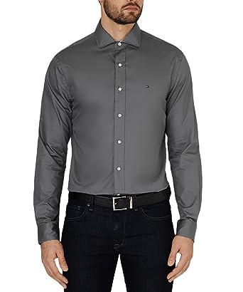 e3d28a0bcfb Tommy Hilfiger Big Man s Business Shirt Smart Casual (14.5 quot  38 quot   Chest)