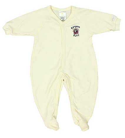 Amazon.com  Mighty Mac New York Rangers NHL Baby Boys Infant Retro ... c9101855f