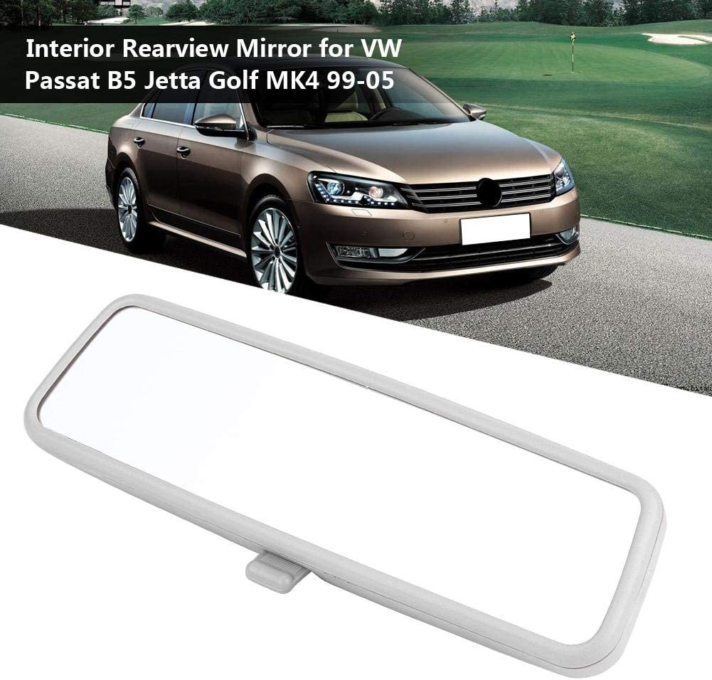 silver KIMISS Car Interior Inner Rearview Mirror for B5 MK4 99-05 3B0857511G