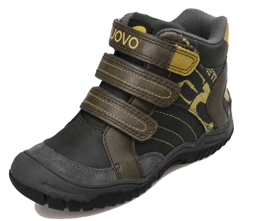 iDuoDuo Boys Waterproof Hiking Boots Anti-Collision Warm Ankle Boots Gray 10 M US Toddler