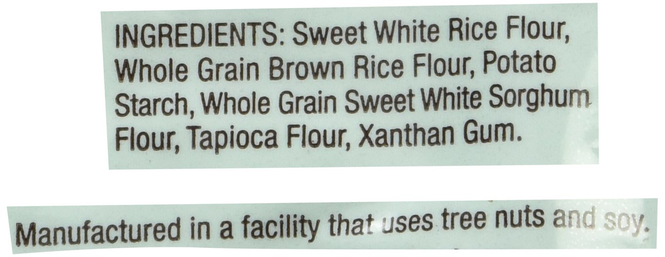 Bob's Red Mill Gluten Free 1-to-1 Baking Flour, 5 Pound by Bob's Red Mill (Image #4)