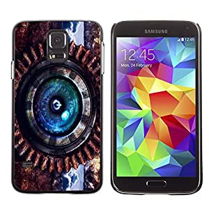Be-Star Único Patrón Plástico Duro Fundas Cover Cubre Hard Case Cover Para SAMSUNG Galaxy S5 V / i9600 / SM-G900F / SM-G900M / SM-G900A / SM-G900T / SM-G900W8 ( Steam Punk Power )