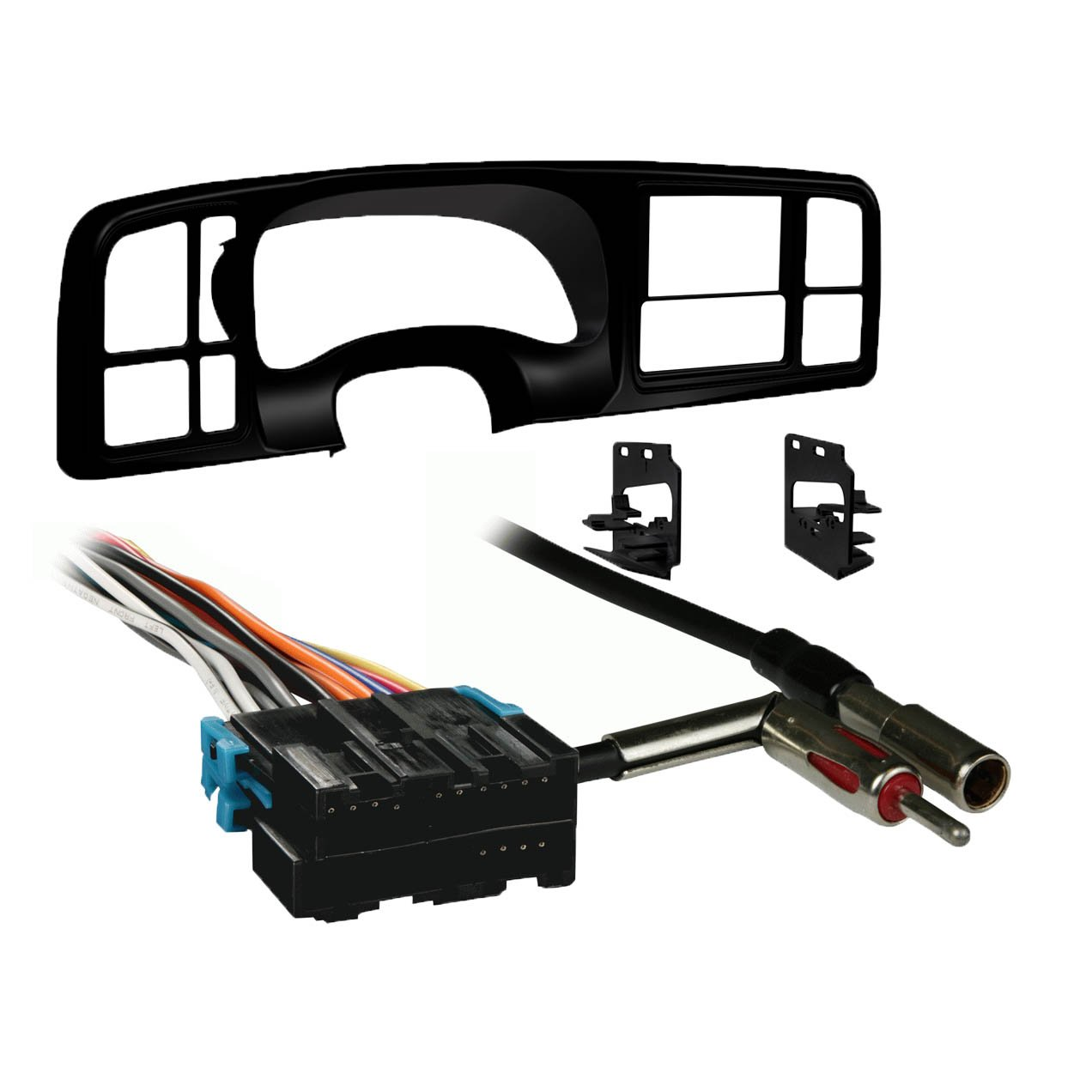 Metra Double Din Car Stereo Radio Install Dash Kit For Jensen Wiring Harness Silverado 1999 02 Sierra Electronics