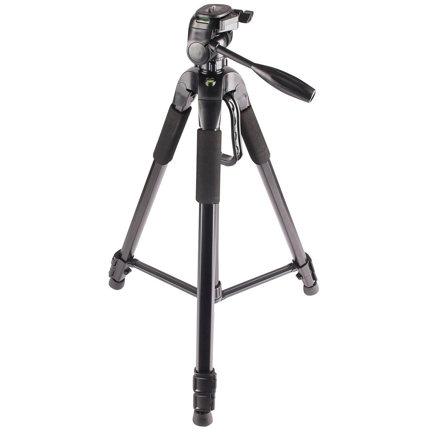 PRO 72-Inch 3-Way Panhead Tilt Motion Built in Bubble Leveling Tripod with Soft Carrying Case and Monopod for DSLR Cameras